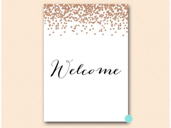 bs155-sign-welcome-rose-gold-bridal-shower-sign