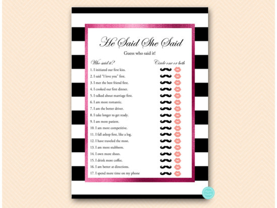bs500-he-said-she-said-hot-pink-and-black-stripes-baby-shower-bachelorette