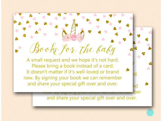 tlc556-books-for-baby-card-pink-gold-unicorn-baby-shower-game