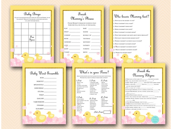 girl-pink-rubber-duck-baby-shower-games-printable-instant-download