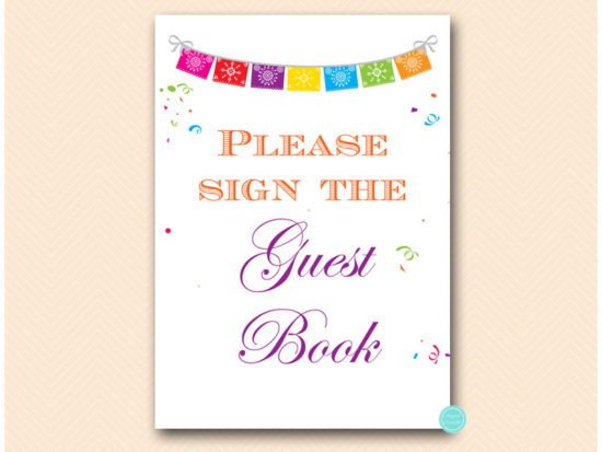 bs136-sign-guestbook-fiesta-decoration-sign