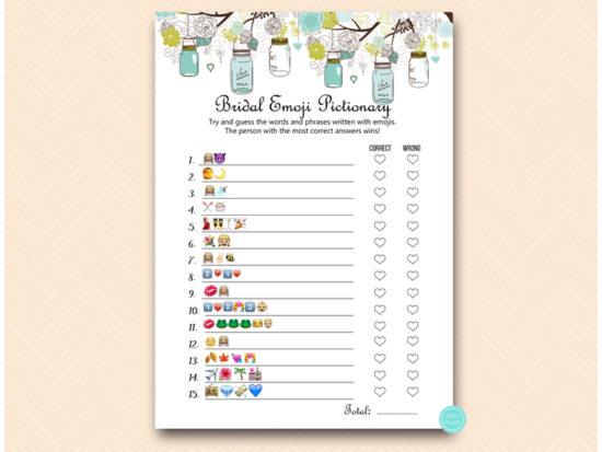 bs40-emoji-pictionary-bridal-teal-mason-jars-bridal-shower-games