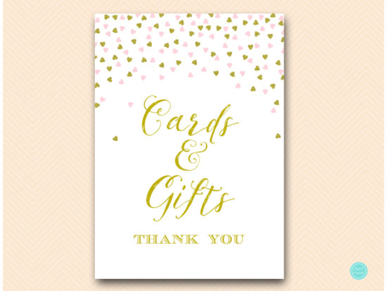 sn484-sign-cards-and-gifts-decoration-sign-pink-gold-baby-bridal