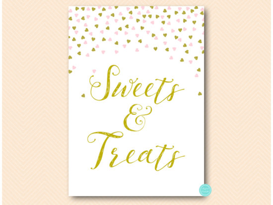 sn484-sign-sweet-treats-pink-and-gold-table-signs