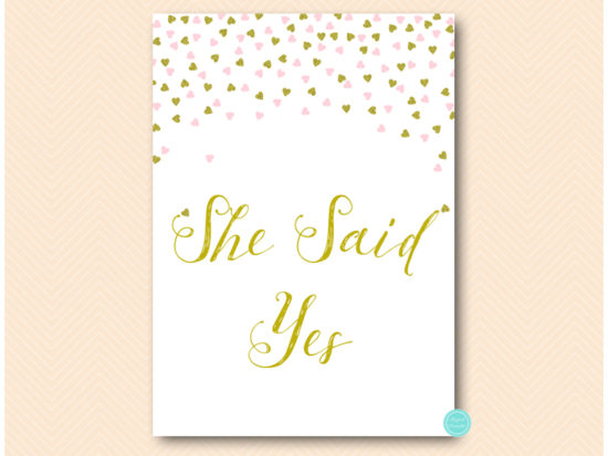 sn488-sign-she-said-yes-pink-and-gold-table-signs