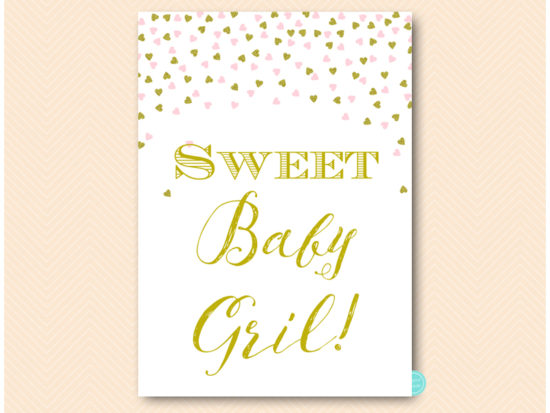 sn488-sign-sweet-baby-girl-pink-and-gold-baby-shower