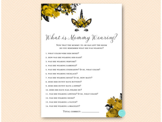 tlc570-what-is-mommy-wearing-gold-unicorn-baby-shower