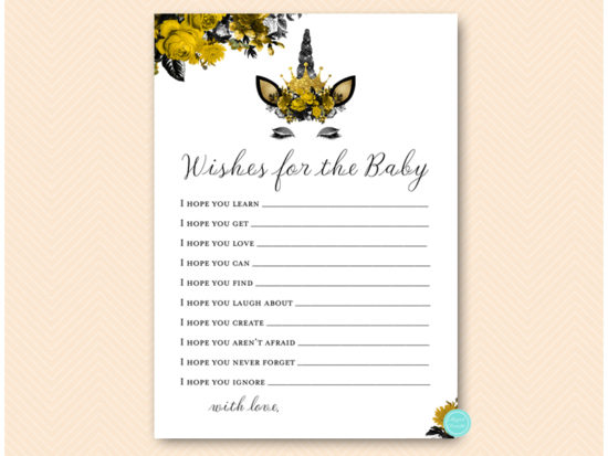 tlc570-wishes-for-baby-card-gold-unicorn-baby-shower