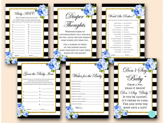 blue-floral-baby-shower-game-package-printable-instant-download