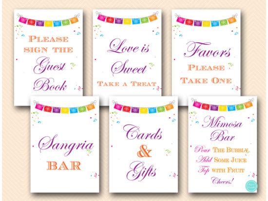 fiesta-bridal-shower-signs-printable-instant-download