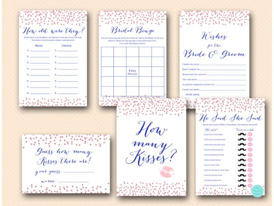 rose-gold-and-navy-bridal-shower-games