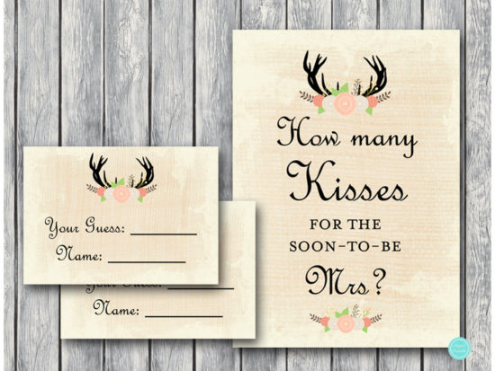 bs41-how-many-kisses-sign-antler-bridal-shower-game