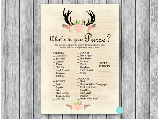 bs41-whats-in-your-purse-antler-bridal-shower-game