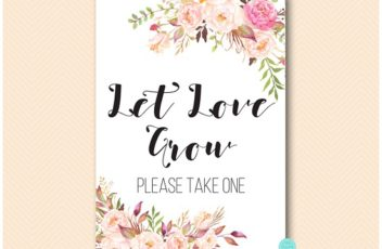 bs546-sign-boho-floral-let-love-grow-please-take-one-sign