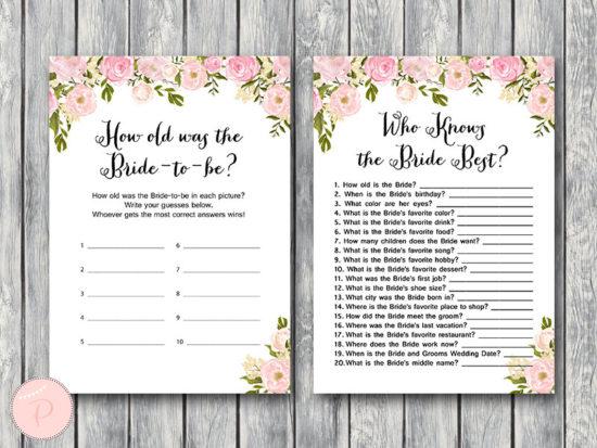 peonies-bridal-shower-games-package-what-did-groom-say