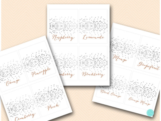silver-rose-gold-bubbly-bar-sign-printable-with-juice-labels