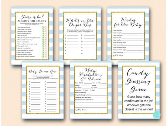 baby-blue-stripes-baby-shower-games
