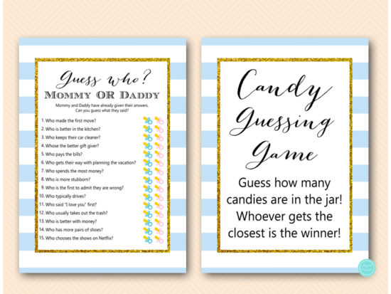 baby-blue-stripes-baby-shower-games-guess-who-mom-or-dad