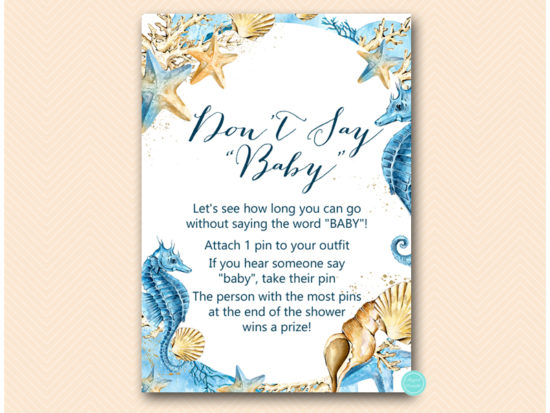 tlc520-seahorse-baby-shower-beach-dont-say-baby-1pin-5x7