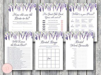 lavender-bridal-shower-games-package
