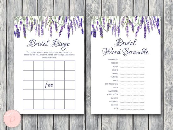 lavender-bridal-shower-games-package-bingo