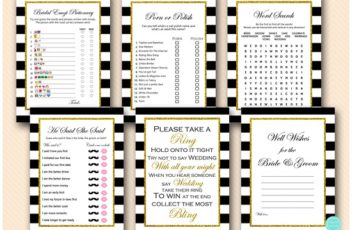 black-stripes-and-gold-glitter-bridal-shower-bachelorette-games-5