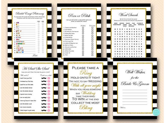 black-stripes-and-gold-glitter-bridal-shower-bachelorette-games-5