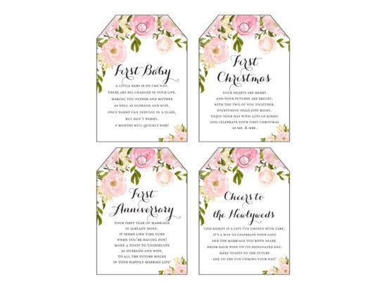 th18-first-year-milestone-wine-tags-pink-peonies-wedding