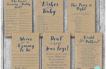 rustic-kraft-navy-baby-shower-game-bundle-instant-download-on-sale