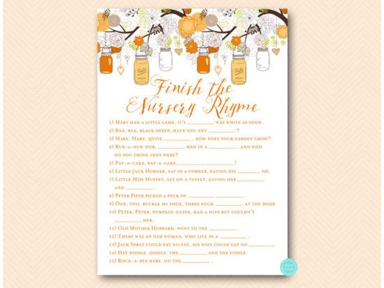 tlc600-nursery-rhyme-quiz-fall-autumn-orange-baby-shower