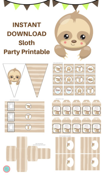 Sloth Printable