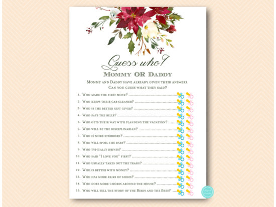 tlc600-guess-who-mommy-or-daddy-quiz-christmas-floral-baby-shower-game