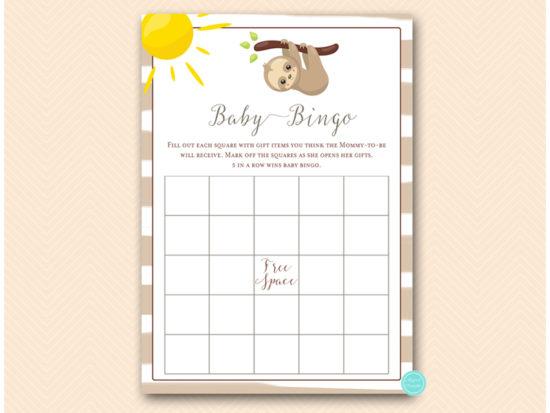 tlc604-bingo-baby-sloth-baby-shower-game