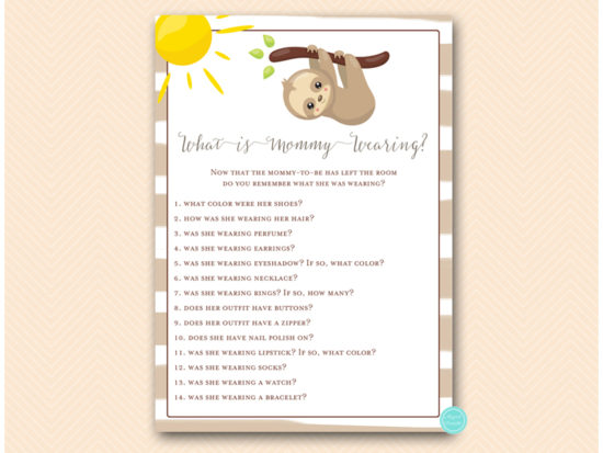 tlc604-what-mommy-is-wearing-sloth-baby-shower-game