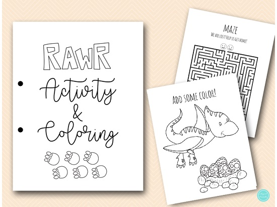 dinosaur-game-and-coloring-book-pages