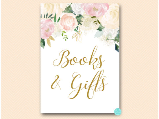 bs530p-sign-books-gifts-pink-blush-party-table-signs