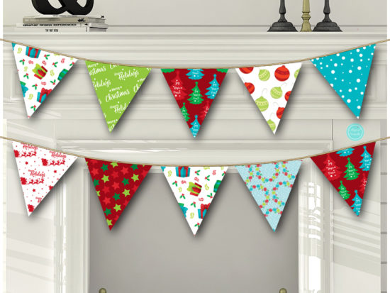 sn611-christmas-party-banner-bunting-instant-download-printable