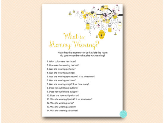 tlc185p-what-is-mommy-wearing-pink-girl-bee-baby-shower-game
