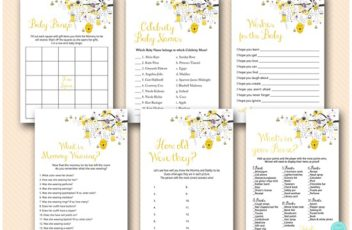 pink-and-yellow-bee-themed-baby-shower-game-bundle