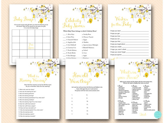pink-and-yellow-bee-themed-baby-shower-game-bundle-deal