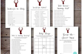 winter-baby-shower-games-christmas-lumberjack-antler-deer