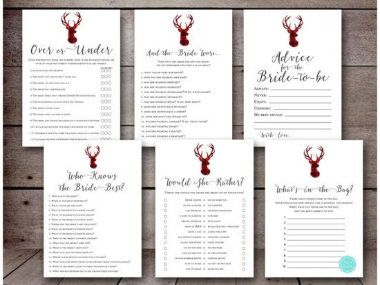 winter-bridal-shower-games-christmas-lumberjack-antler-deer