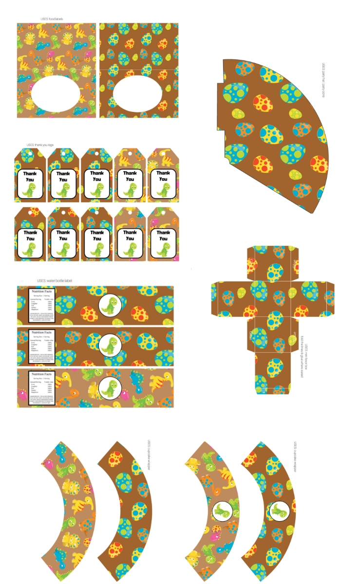 bp606-dinosaur-party-printable-wrappers-cupcake-labels
