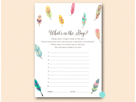bs60-whats-in-the-bag-tribal-bridal-shower-game
