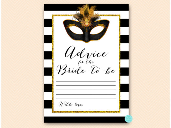 bs621-advice-for-bride-card-gold-masquerade-mask-bridal-shower-game