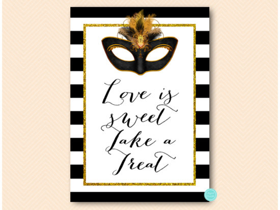 bs621-sign-love-is-sweet-gold-masquerade-party-signs-mardi-gras