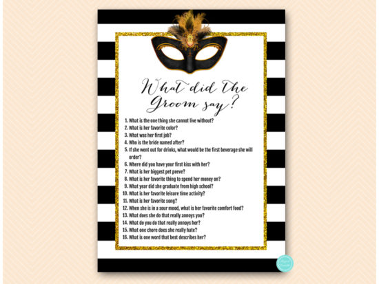 bs621-what-did-groom-say-gold-masquerade-mask-bridal-shower-game