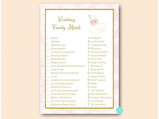 bs627-wedding-candy-match-swan-princess-bridal-shower