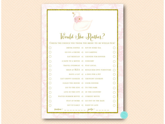 bs627-would-she-ratherg-pink-gold-swan-bridal-shower-game