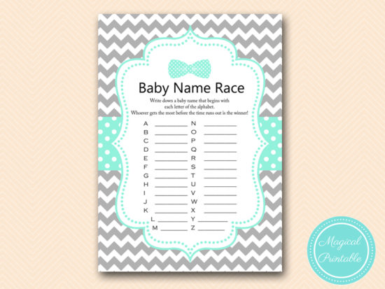 tlc405-baby-name-race-boy-little-man-baby-shower-game-bows